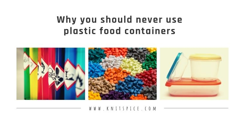 Why you should never use plastic food containers